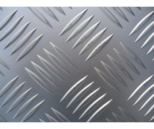 Afbeeldingen van Aluminium tranenplaat