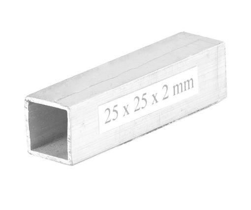 Afbeeldingen van Aluminium vierkantbuis