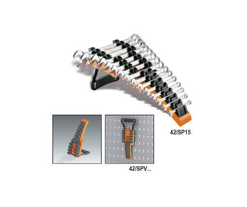 Afbeeldingen van BETA 15-delig ringsteeksleutel houder